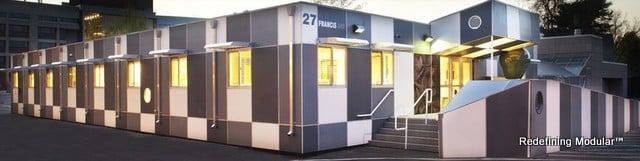 Tufts University Modular Building